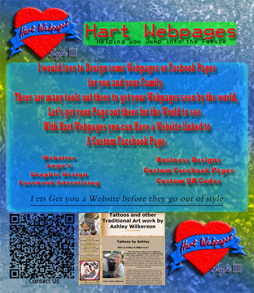 Hart Web Pages Facebook Tab