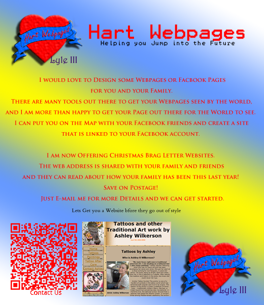 Hart Webpages Website Old Facebook Page